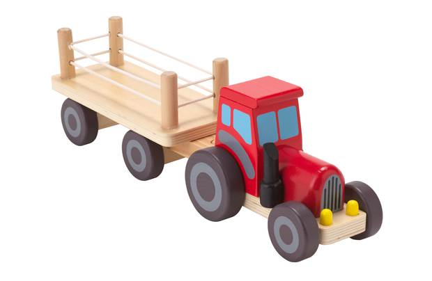 Chad Valley Wooden Tractor