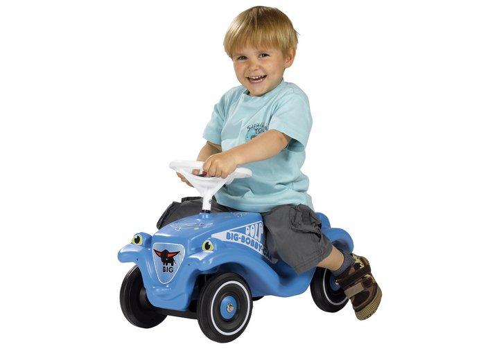 smoby big bobby classic car - blue