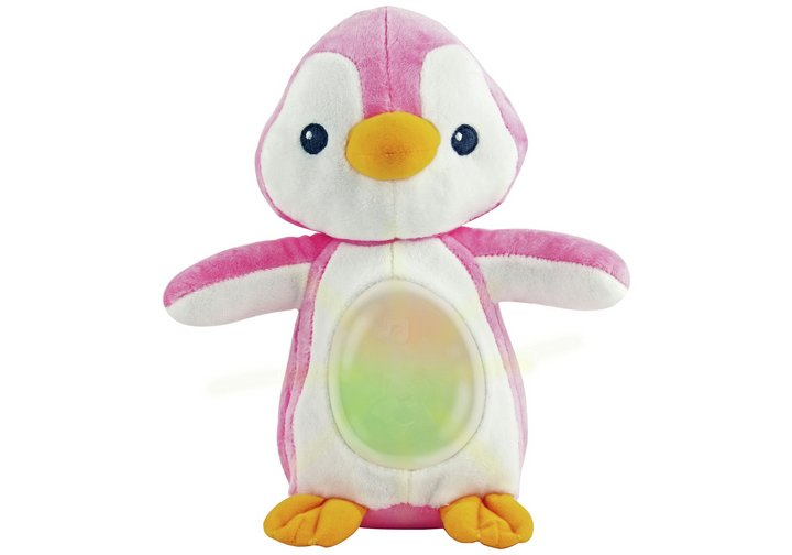 Chad Valley Penguin Projector - Baby Pink