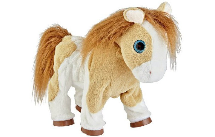 Chad Valley Fluffy Friends Small Animated Pony Soft Toy