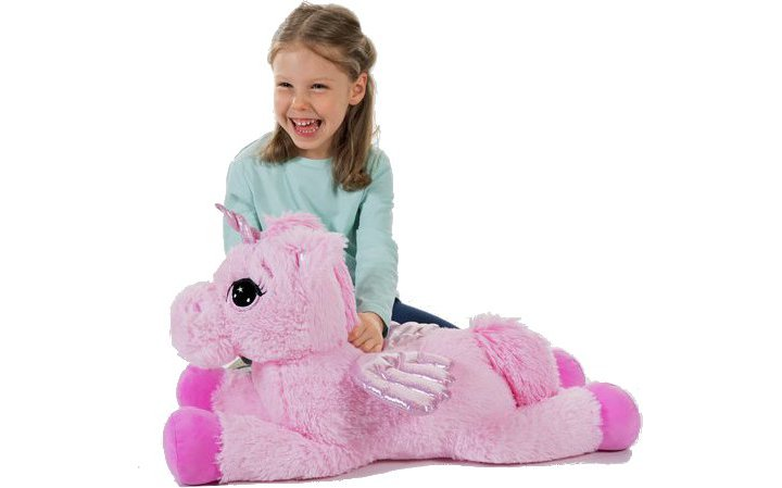 Chad Valley Fluffy Friends Magical Unicorn Plush