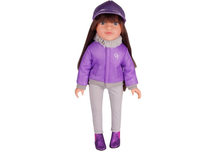 Chad Valley Designafriend Lilac Coat Outfit