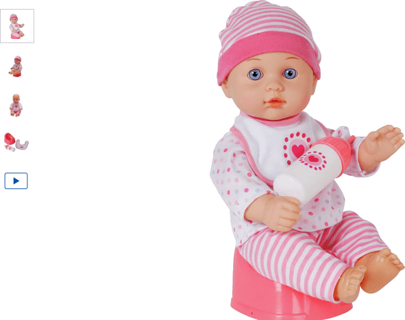 Chad Valley Baby to Love Drink and Wet Doll | Babies To Love