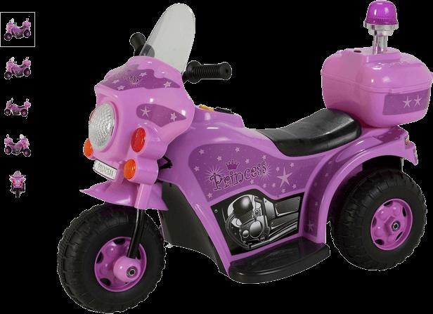 Chad Valley 6V Princess Stardom Bike