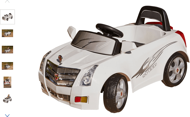 Chad Valley 6V Sports Car - White