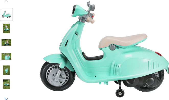 chad valley 6v vespa scooter