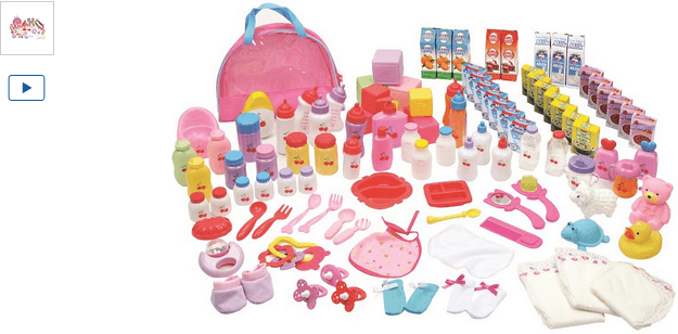 chad valley babies to love 100 piece baby accessory set