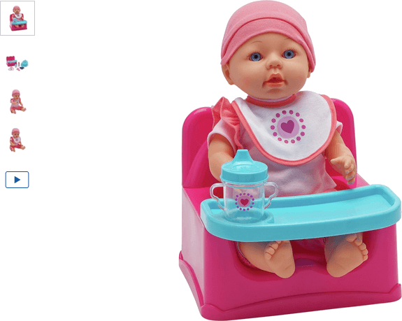 Chad Valley Baby to Love Potty and Snack Chair