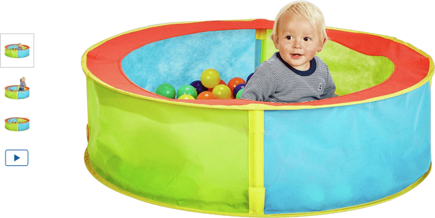 Chad Valley Blue Pop Up Ball Pit