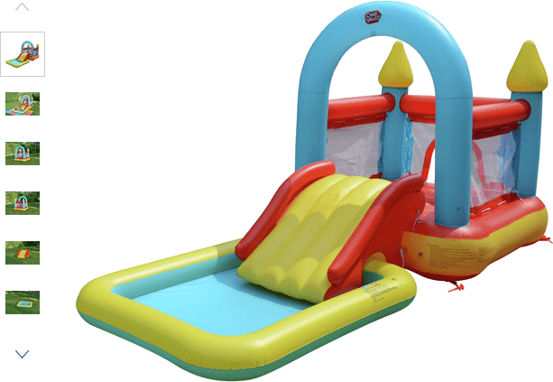 chad valley bouncy house and pool
