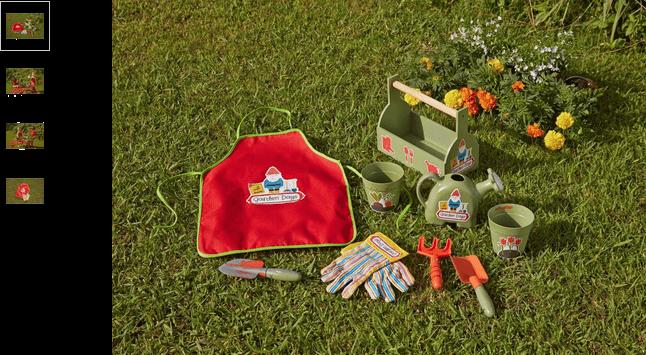 Chad Valley Children's Gnome Gardening Set