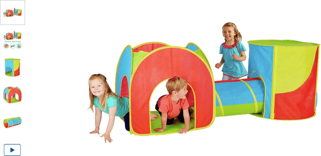 chad valley combo 3-in-1 playtent