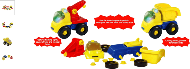 Chad Valley Construction Truck