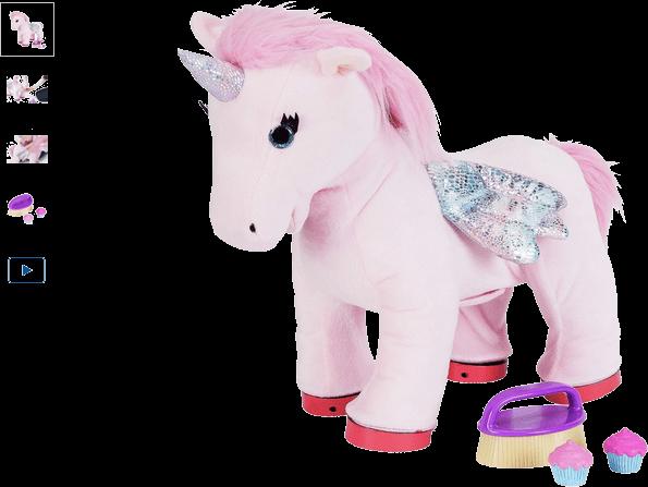 chad valley cupcake animated unicorn