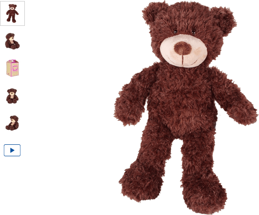 chad valley design-a-bear chocolate bear