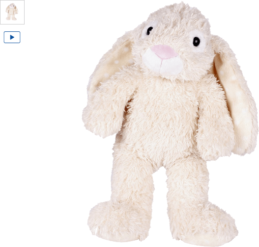 chad valley design-a-bear cream bunny