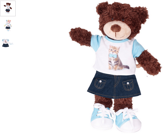 chad valley design-a-bear kitten outfit