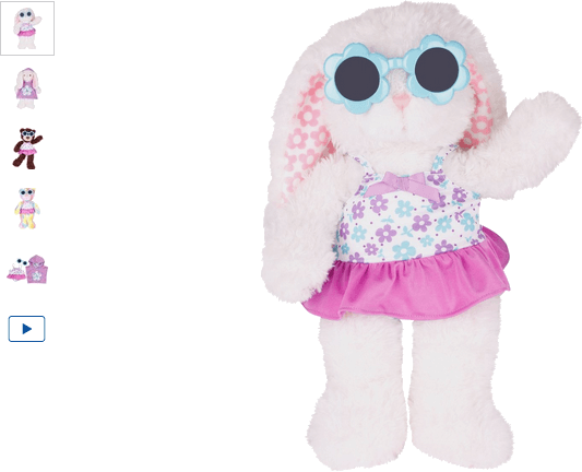 chad valley design-a-bear swimming costume