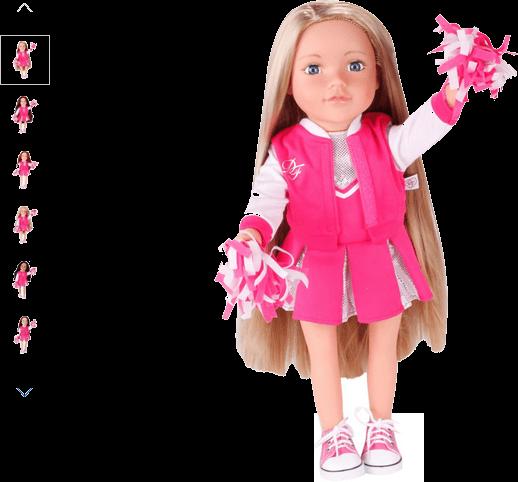 Chad Valley DesignaFriend Cheerleader Outfit