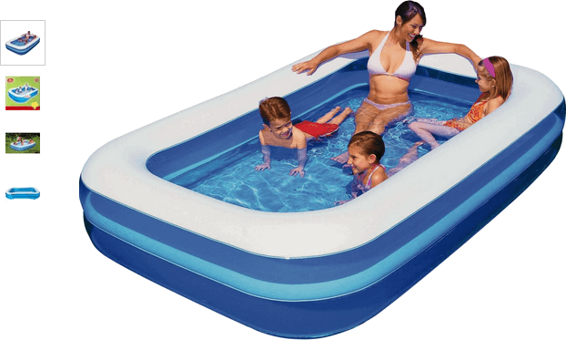 Chad Valley Family Swim Centre Rectangular 950 Litre Pool