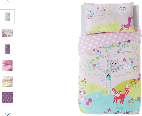 Chad Valley Friends of the Meadow Bedding Set - Toddler