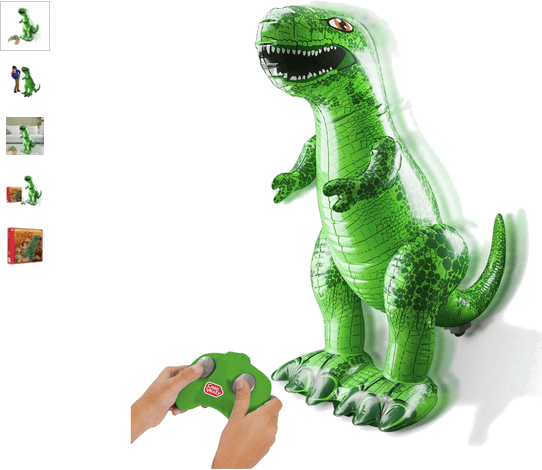 Chad Valley Inflatable Radio Controlled Dinosaur