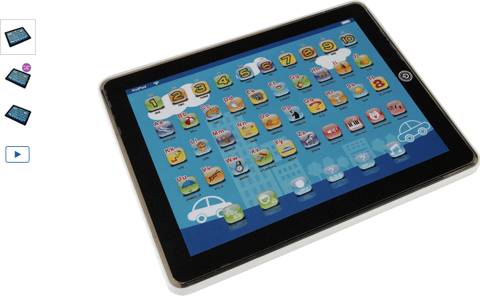 Chad Valley Junior Touch Tablet - Blue