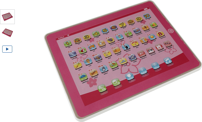 Chad Valley Junior Touch Tablet - Pink