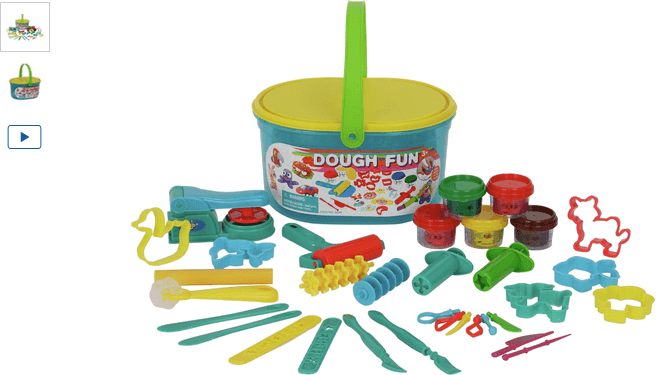 Chad Valley Mega Dough Tub Craft Set