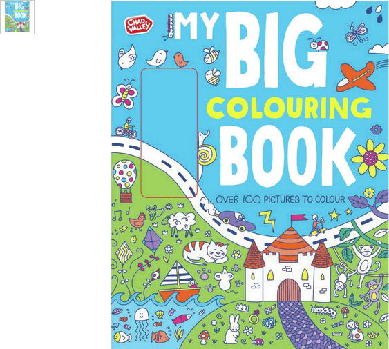 chad valley my big colouring book