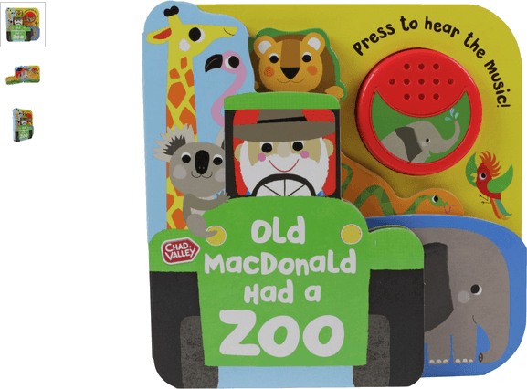 chad valley old mcdonald had a zoo soundbook