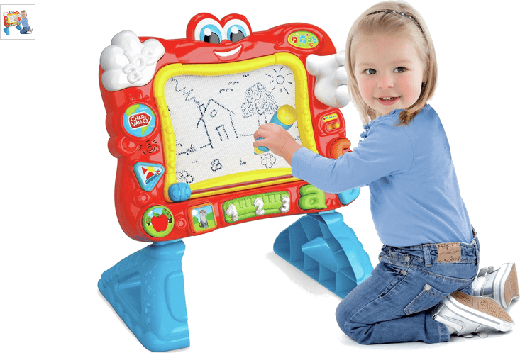 Chad Valley PlaySmart Interactive Magnetic Easel