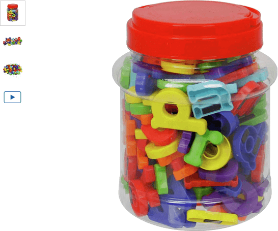 Chad Valley PlaySmart Magnetic Letters & Numbers Set