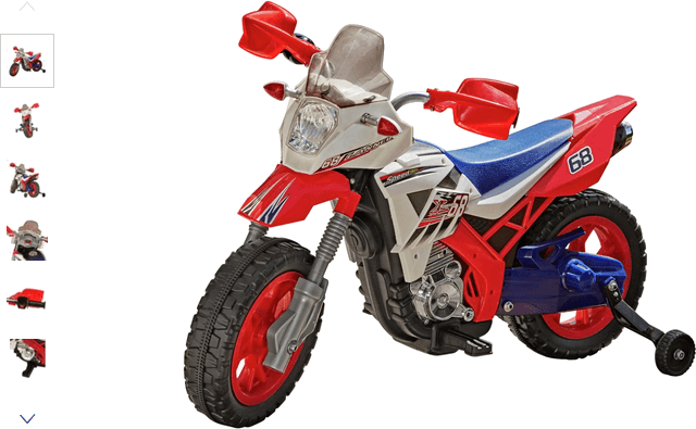 Chad Valley Powered Motorbike