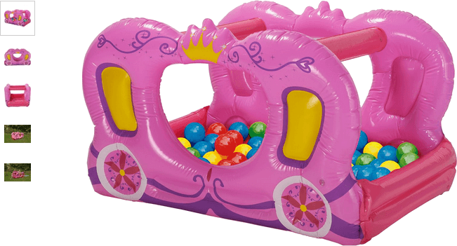 Chad Valley Princess Carriage Ball Pit and Pool