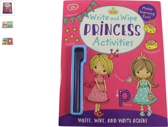 chad valley princess write & puzzle book