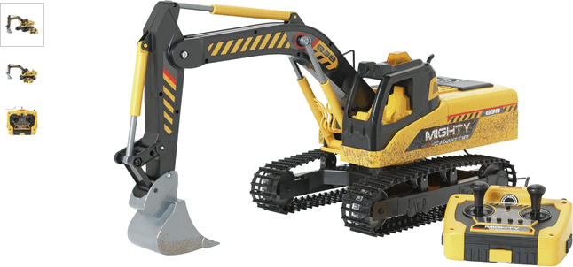 Chad Valley Radio Controlled Excavator