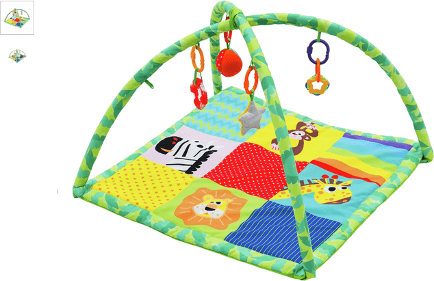 Chad Valley Rainbow Playmat - Jungle