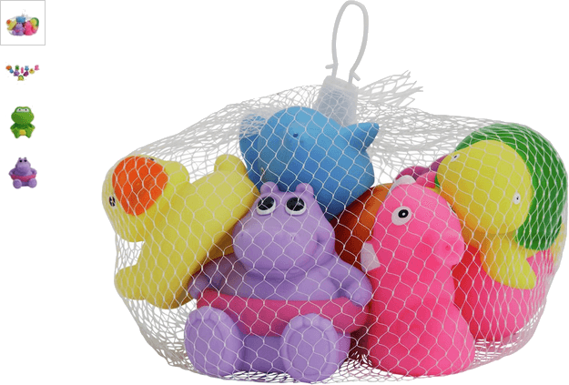 chad valley sea friends bath squirters - 10 pack