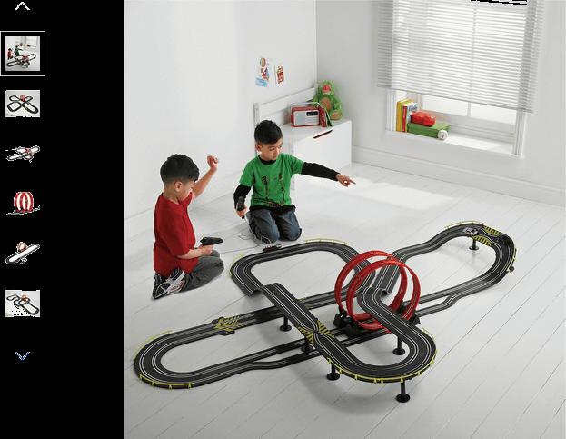 Chad Valley Super Loop Speedway Track Playset