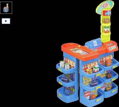 Chad Valley Supermarket Playset