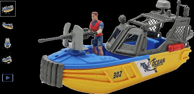 Chad Valley Underwater Rescue Boat