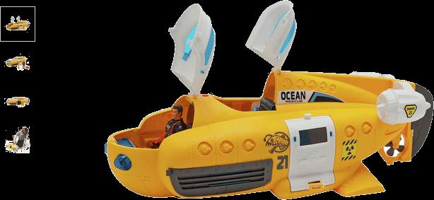 Chad Valley Underwater Rescue Submarine