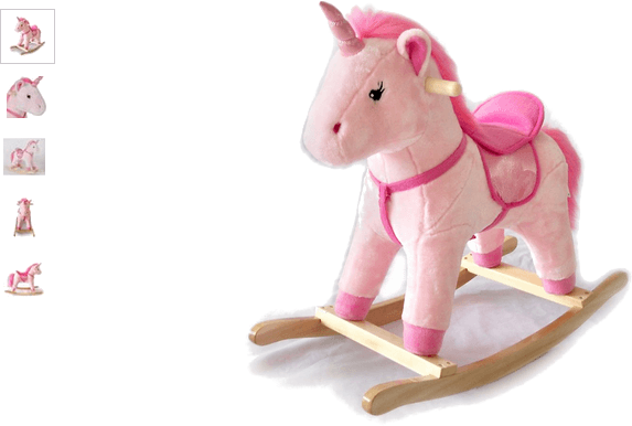 chad valley unicorn rocking horse