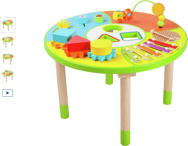 Chad Valley Wooden Activity Table