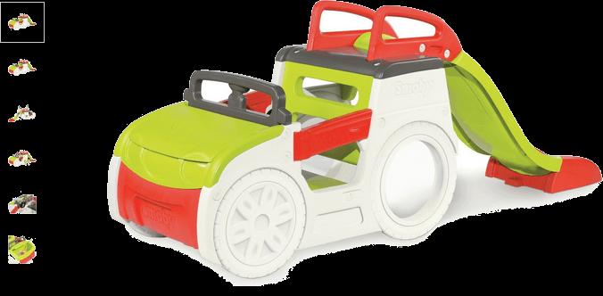 smoby adventure car play centre