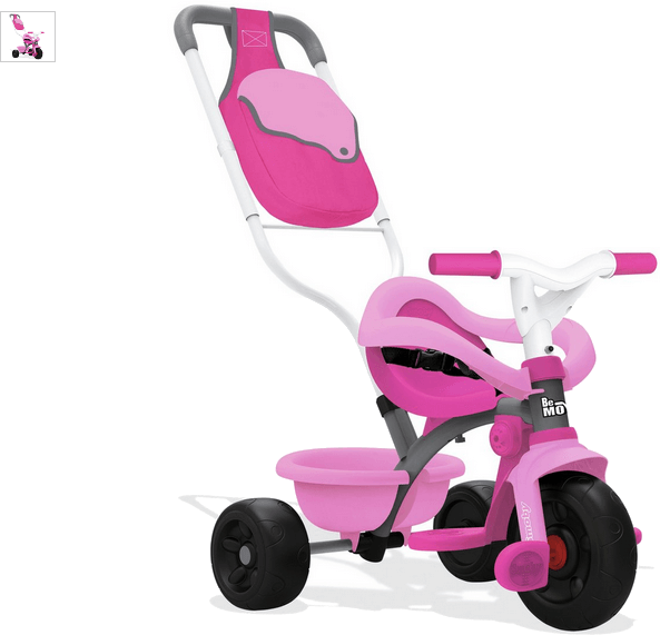 smoby be move comfort tricycle - rose