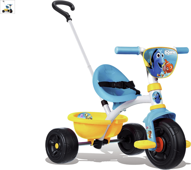 smoby be move dory tricycle