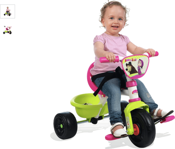 smoby be move masha tricycle