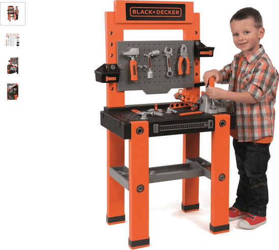 smoby black and decker tool bench